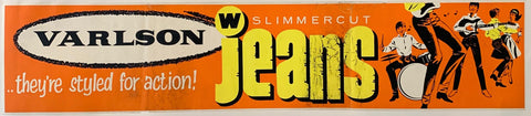 "Varlson Slimmer Cut Jeans ""They're styled for action!"""