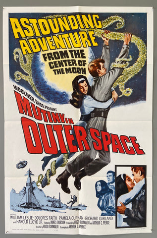 Astounding Adventure from the Center of the Moon -- Mutiny in OuterSpace