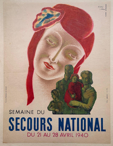 Semaine du Secours National - Poster Museum