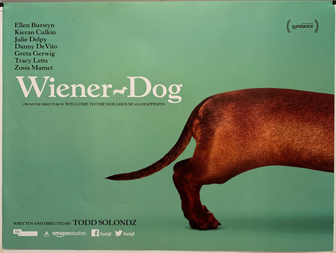 Weiner Dog Movie Poster