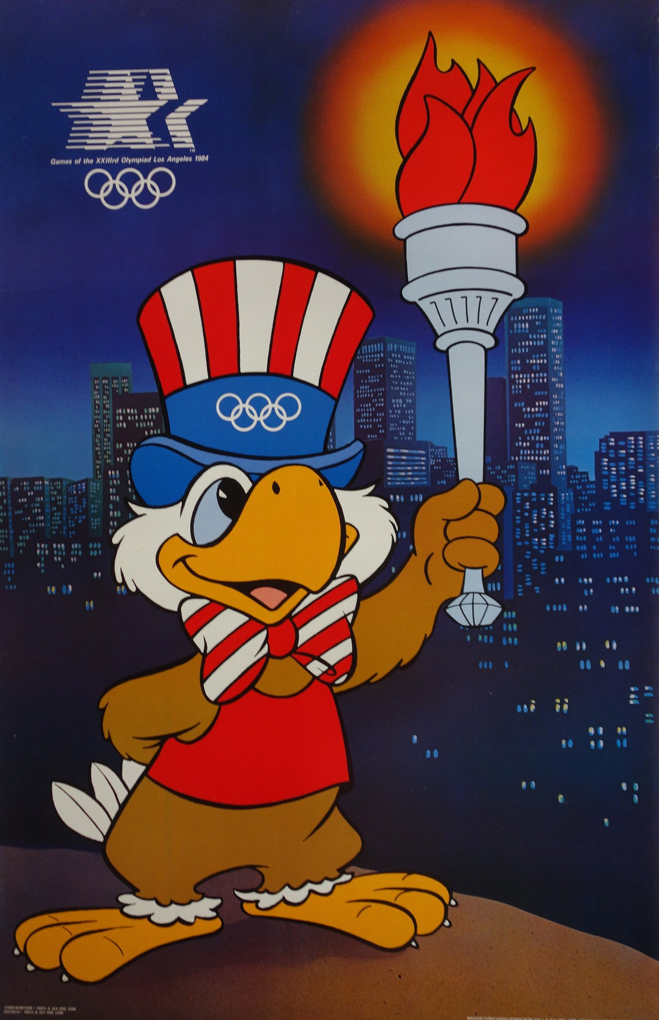 Uncle Sam At The Olympics