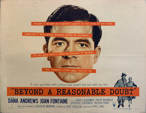 Beyond A Reasonable Doubt Film Poster