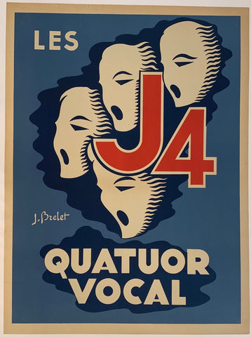 Les J4 Quatuor Vocal