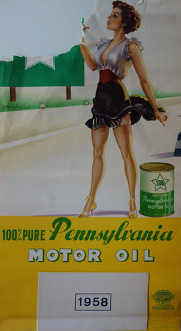 100% Pure Pennsylvania Motor Oil