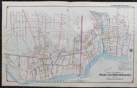 Long Island Index Map No.2 - Plate 7 Islip, Brookhaven