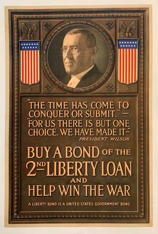 Buy a bond of the 2nd liberty loan and help win the war