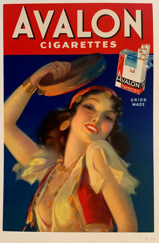 Avalon Cigarettes Print