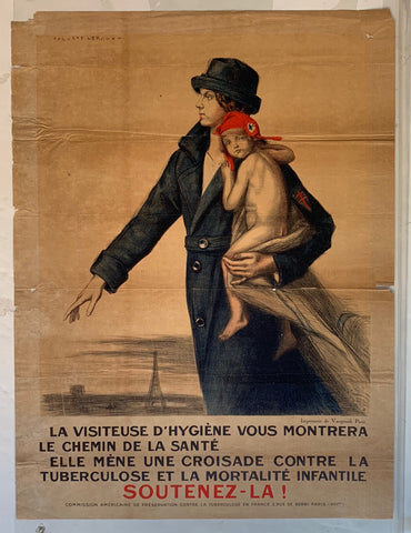 French Health Poster