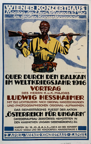 German War Poster