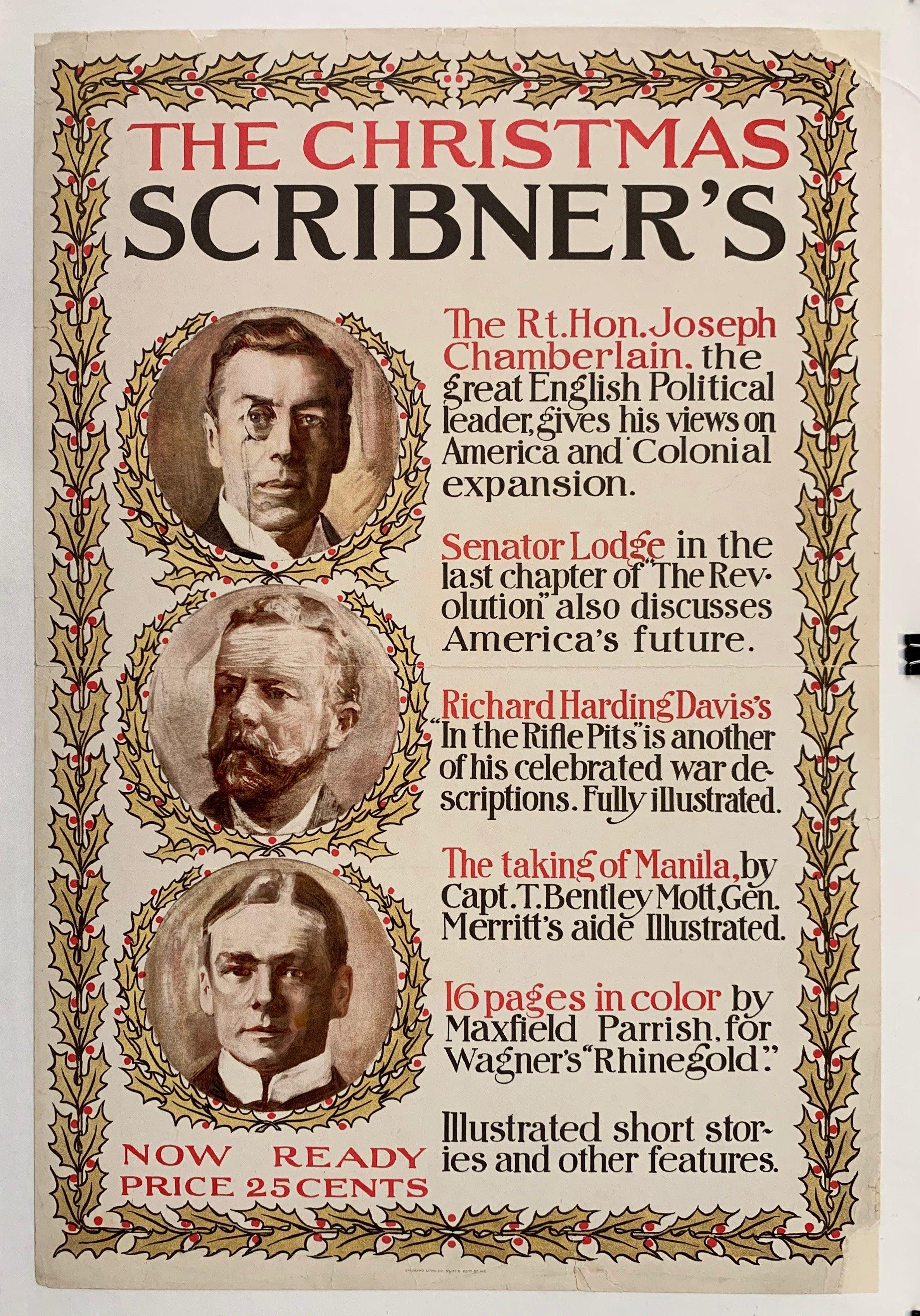 The Christmas Scribner's - Poster Museum