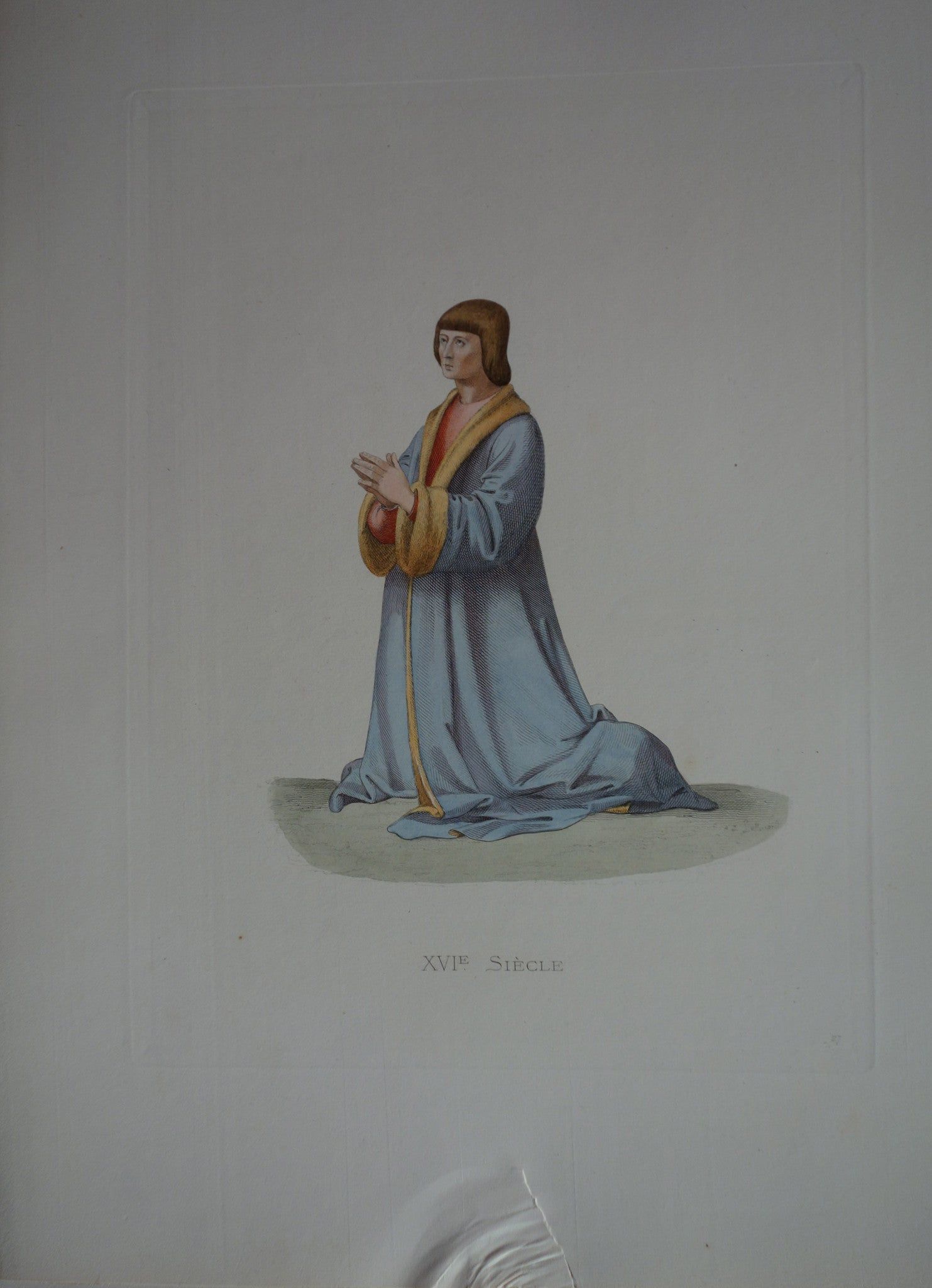 XVI Siecle In Prayer