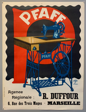 PFAFF Sewing Machine Poster