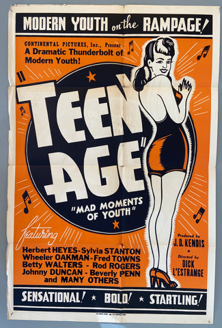Teenage Mad Moments of Youth