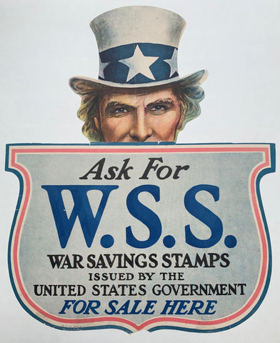 Ask for W.S.S. War Savings Stamps - Poster Museum