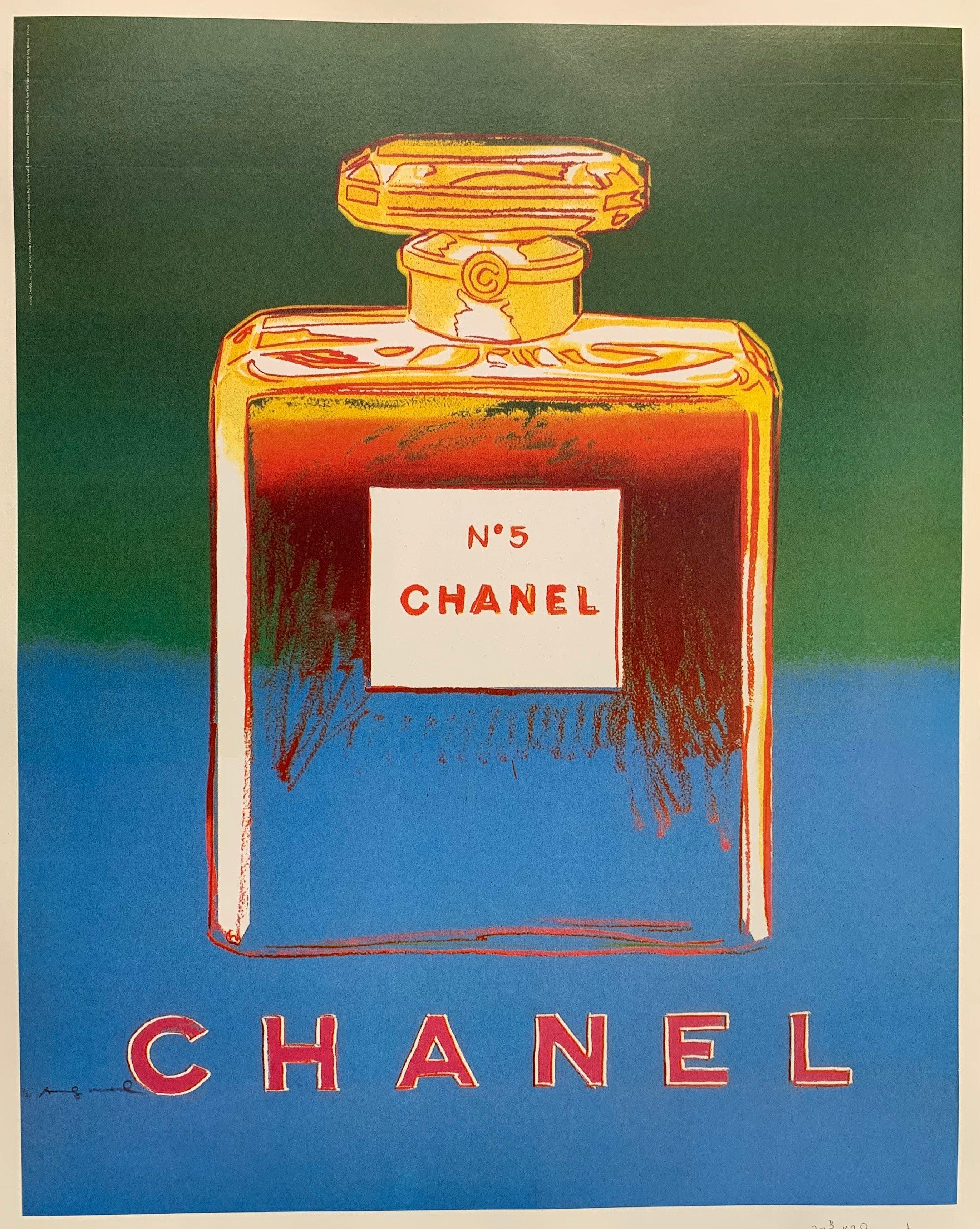 Chanel (Blue and Green) - Poster Museum
