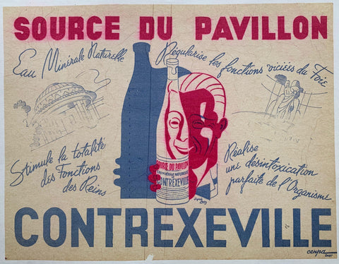 "Source du Pavillon ""Contrexeville"""