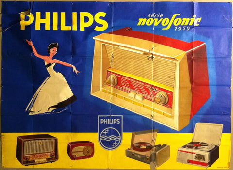 Philips Novosonic French Advertisement