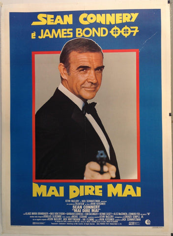 Sean Connery e James Bond 007 Mai Dire Mai