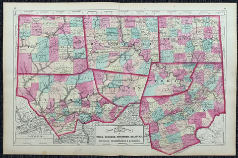 Atlas of Pennsylvania 8