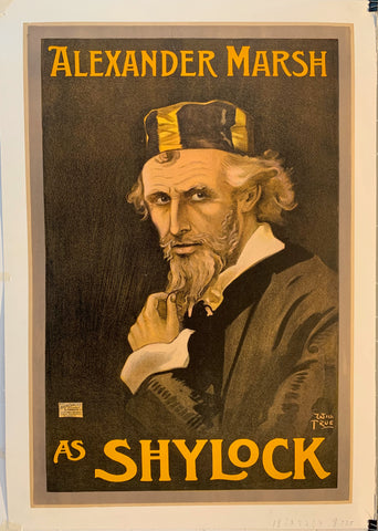 Alexander Marsh As Shylock