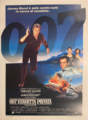 007 Vendetta Privata (License to Kill) Poster