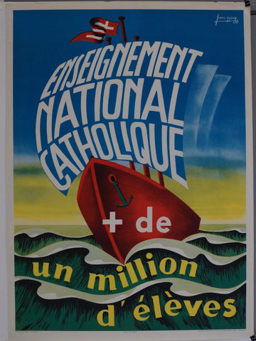 Enseignement National Catholique de un million d'eleves