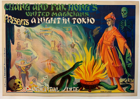 Chang and Fak Hong's United Magicians presents; A Night in Tokio