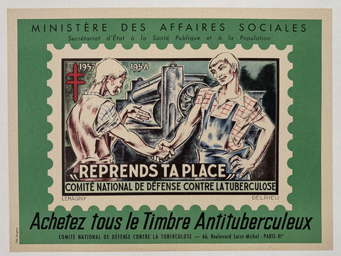 Ministère des affaires sociales, Comite national de defense contre la tuberculose