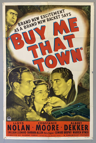 """ Buy Me That Town"" US movie poster"