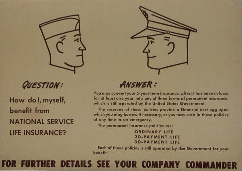 "WW2 Insurance Question: ""How Do I-"""