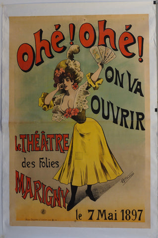 "Ohe! Ohe! On Va Ouvrir ""Le Theatre Des Folies Marigny"""
