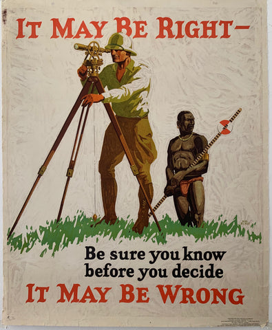 It May Be Right Mather Poster