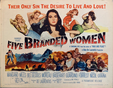Five Branded Women Film Poster