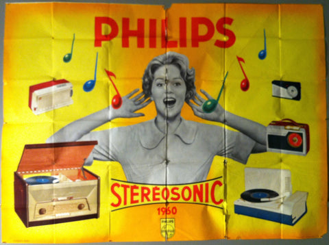 Philips Stereosonic Advertisement