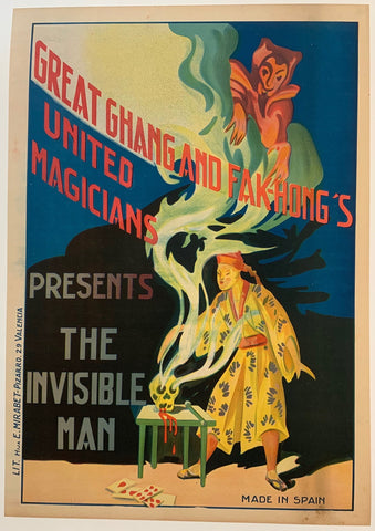 Chang and Fak-Hong's United Magicians Presents: The Invisible Man