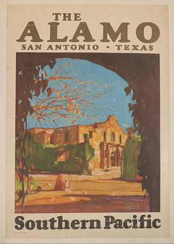 The Alamo Southern Pacific Poster