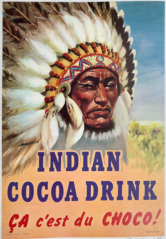 Indian Cocoa Drink Ça Ç'est du Chocó!