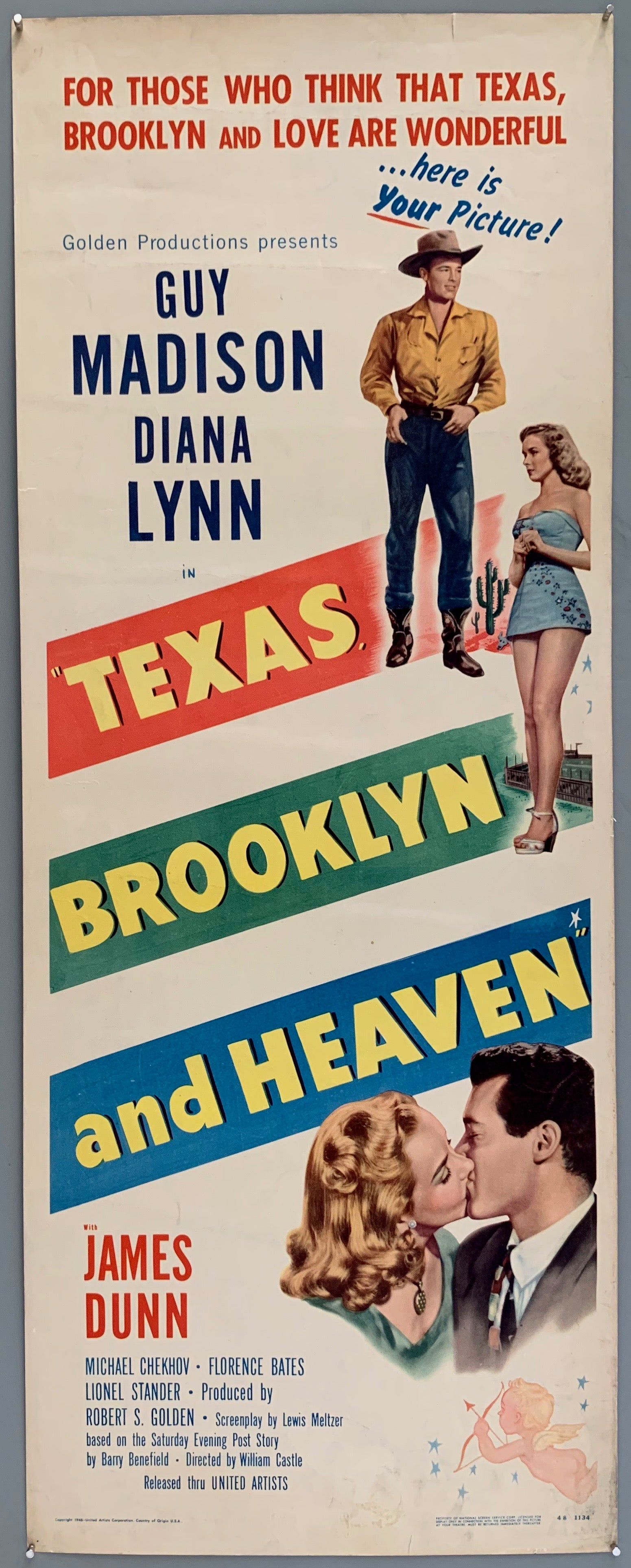 Texas, Brooklyn & Heaven Poster