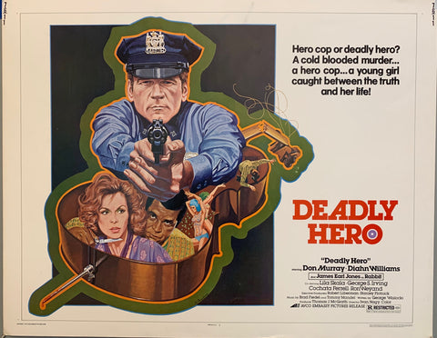 Deadly Hero Film Poster