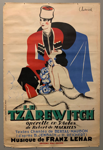 Le Tzarewitch Poster