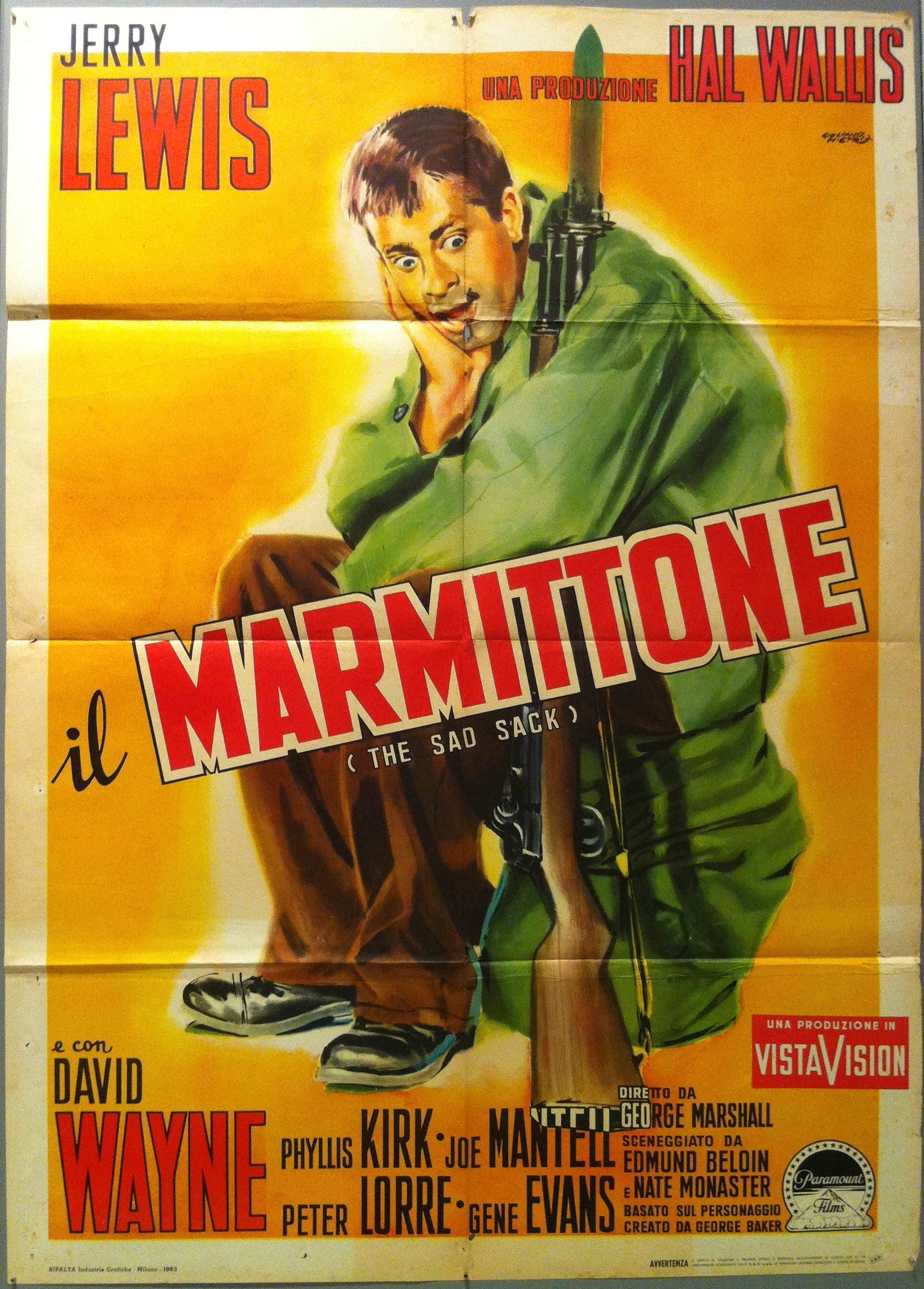 Il Marmittone (The Sad Sack)