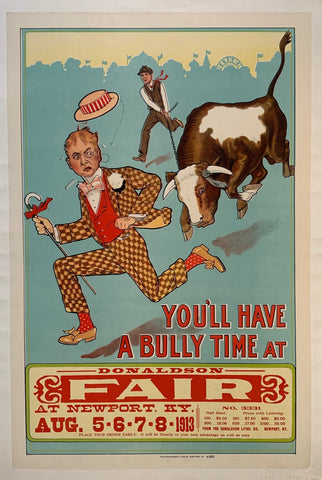 You'll have a bully time at Donaldson Fair
