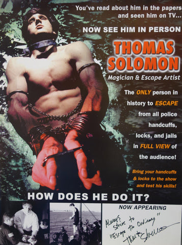 See him in person - THOMAS SOLOMAN