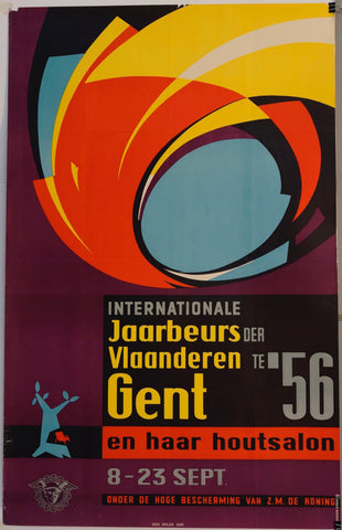Internationale Jaarbeurs Der Vlaanderen Gent te '56