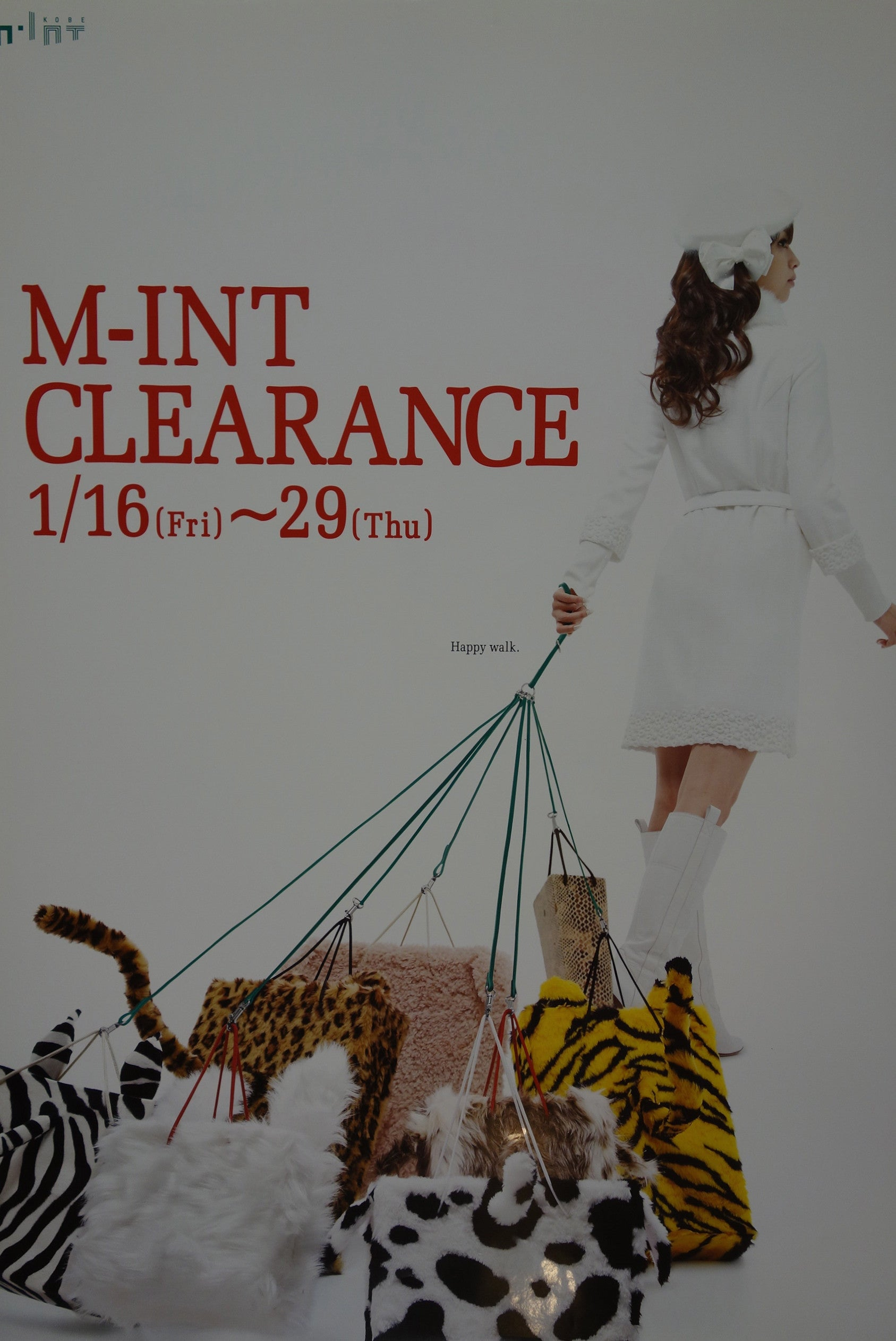 Happy Walk. M-int Clearance