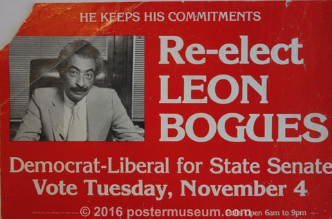 Re-Elect Leon Bogues