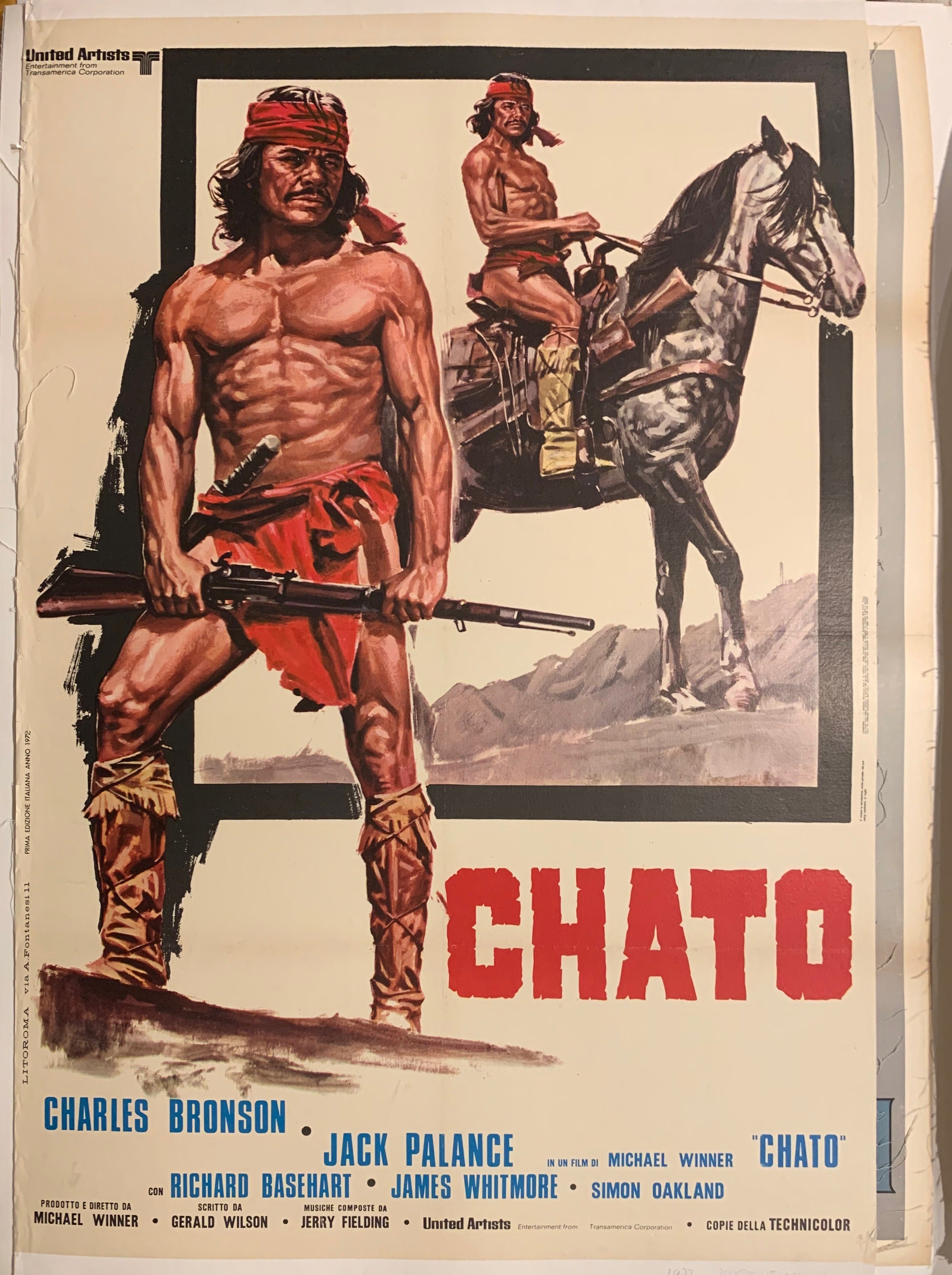 Chato Poster