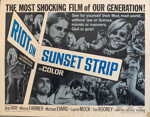 Riot On Sunset Strip Film Poster