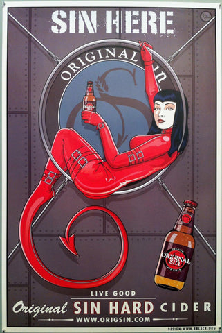 Original Sin Hard Cider Devil