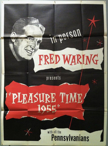 Pleasure  Time 1955 - Poster Museum
